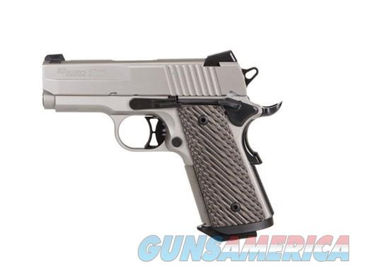 Sig Sauer 1911 Ultra Compact .45ACP 1911UT-45-NI  Guns > Pistols > Sig - Sauer/Sigarms Pistols > 1911