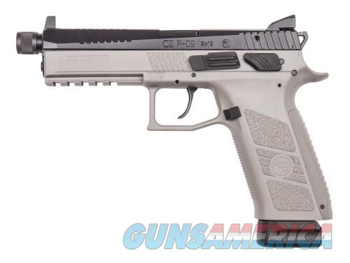 CZ P-09 Urban Grey Threaded Tritium 9MM 91269 NEW  Guns > Pistols > CZ Pistols