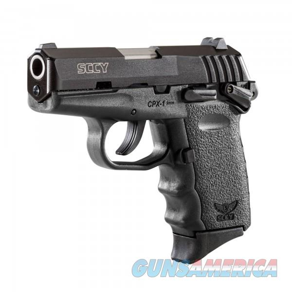 SCCY CPX-1 CB Black / Black 9MM NEW  Guns > Pistols > SCCY Pistols > CPX1