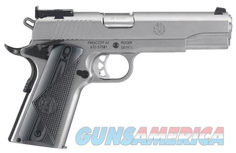 Ruger SR1911 Target Stainless .45ACP NEW 6736 45  Guns > Pistols > Ruger Semi-Auto Pistols > 1911