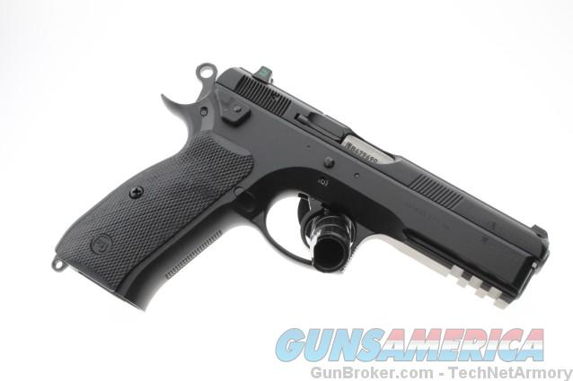 CZ SP-01 Tactical 9mm 91153 Decocker 2-18 rnd Tritium Night Sights NO CC FEE  Guns > Pistols > CZ Pistols