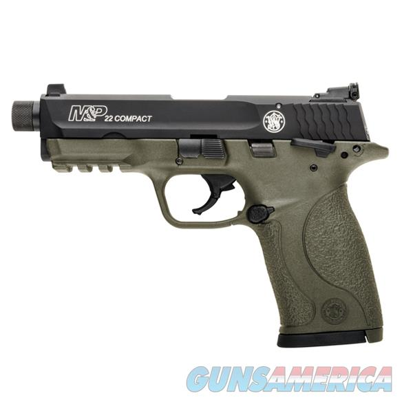 S+W M&P 22 Compact Threaded FDE .22LR NEW 10242  Guns > Pistols > Smith & Wesson Pistols - Autos > .22 Autos