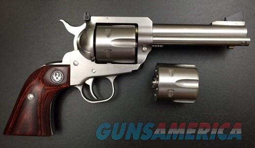 "Ruger Blackhawk Flattop 4.6"" SS Conv 9MM/.357 5245  Guns > Pistols > Ruger Single Action Revolvers > Blackhawk Type"