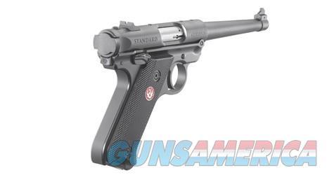"Ruger Mark IV Standard 6"" .22LR 40105 NEW  Guns > Pistols > Ruger Semi-Auto Pistols > Mark I/II/III/IV Family"
