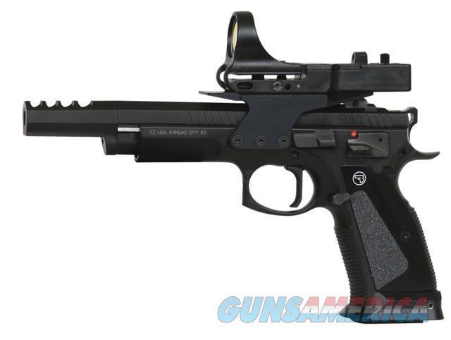 "CZ Czechmate 9mm 5.4"" 4 Mags+CMORE 91174 NEW     Guns > Pistols > CZ Pistols"