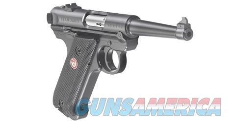 "Ruger Mark IV Standard 4.75"" .22LR 40104 NEW  Guns > Pistols > Ruger Semi-Auto Pistols > Mark I/II/III/IV Family"