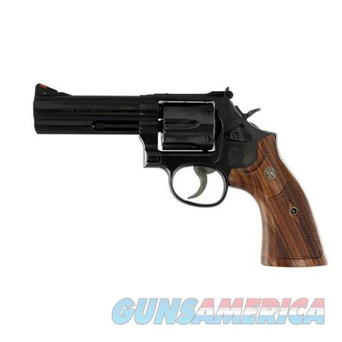 S+W 586 Polished Blue Wood Grps New .357MAG 150909    Guns > Pistols > Smith & Wesson Revolvers > Full Frame Revolver