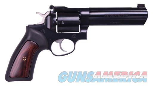 "Ruger GP-100 5"" Blue .44SPEC Hi-Viz 1765 NEW  Guns > Pistols > Ruger Double Action Revolver > GP100"