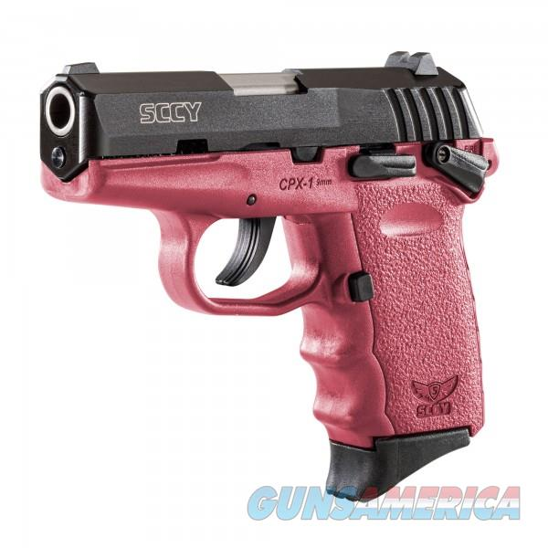 SCCY CPX-1 CBCR Black / Crimson 9MM NEW  Guns > Pistols > SCCY Pistols > CPX1