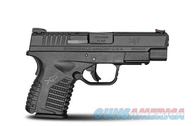 "SA XDs .45 4"" 3 mags+FREE Crimson Trace Laser + Holster NEW 45  XDS94045B  Guns > Pistols > Springfield Armory Pistols > XD-S"