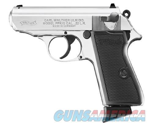 Walther PPK PPK/S .22LR Stainless 5030320  Guns > Pistols > Walther Pistols > Post WWII > PPK Series