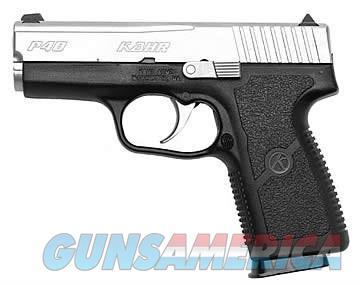 """Kahr P40 KP4043 .40S+W 6+1 3.6"""" SALE!  Guns > Pistols > Kahr Pistols"""