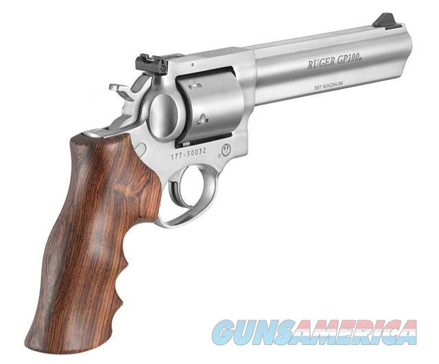 "Ruger GP100 TALO 6"" Unflutd 1759 .357MAG NEW MODEL     Guns > Pistols > Ruger Double Action Revolver > GP100"