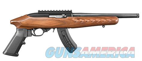 Ruger Charger New Model 4917 .22LR Thr'd Bbl    Guns > Pistols > Ruger Semi-Auto Pistols > Charger Series