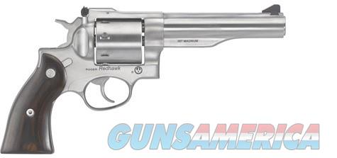 "Ruger Redhawk 5.5"" SS 8-Shot .357MAN 5060 NEW  Guns > Pistols > Ruger Double Action Revolver > Redhawk Type"