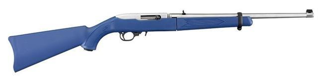 "Ruger 10/22 Takedown .22LR  18.5"" SS Blue Synthetic Stock 11197     Guns > Rifles > Ruger Rifles > 10-22"