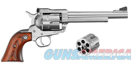 "Ruger Blackhawk Convertible Stainess 9mm/.357MAG 6.5"" 0320     Guns > Pistols > Ruger Single Action Revolvers > Blackhawk Type"