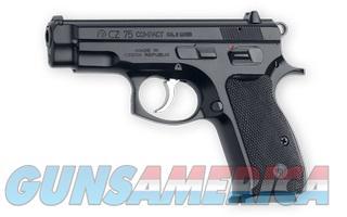 CZ-USA 75 Compact (2) 14 rnd 9MM NEW 91190 NO CC FEE!  Guns > Pistols > CZ Pistols