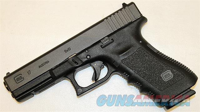 Glock 17 Gen 3 includes CT Lasergrip LG-417 9MM NEW  SALE!!  Guns > Pistols > Glock Pistols > 17