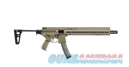 SIG MPX 9MM Carbine MPX-C-9-KM-T-FDE NEW  Guns > Rifles > Sig - Sauer/Sigarms Rifles