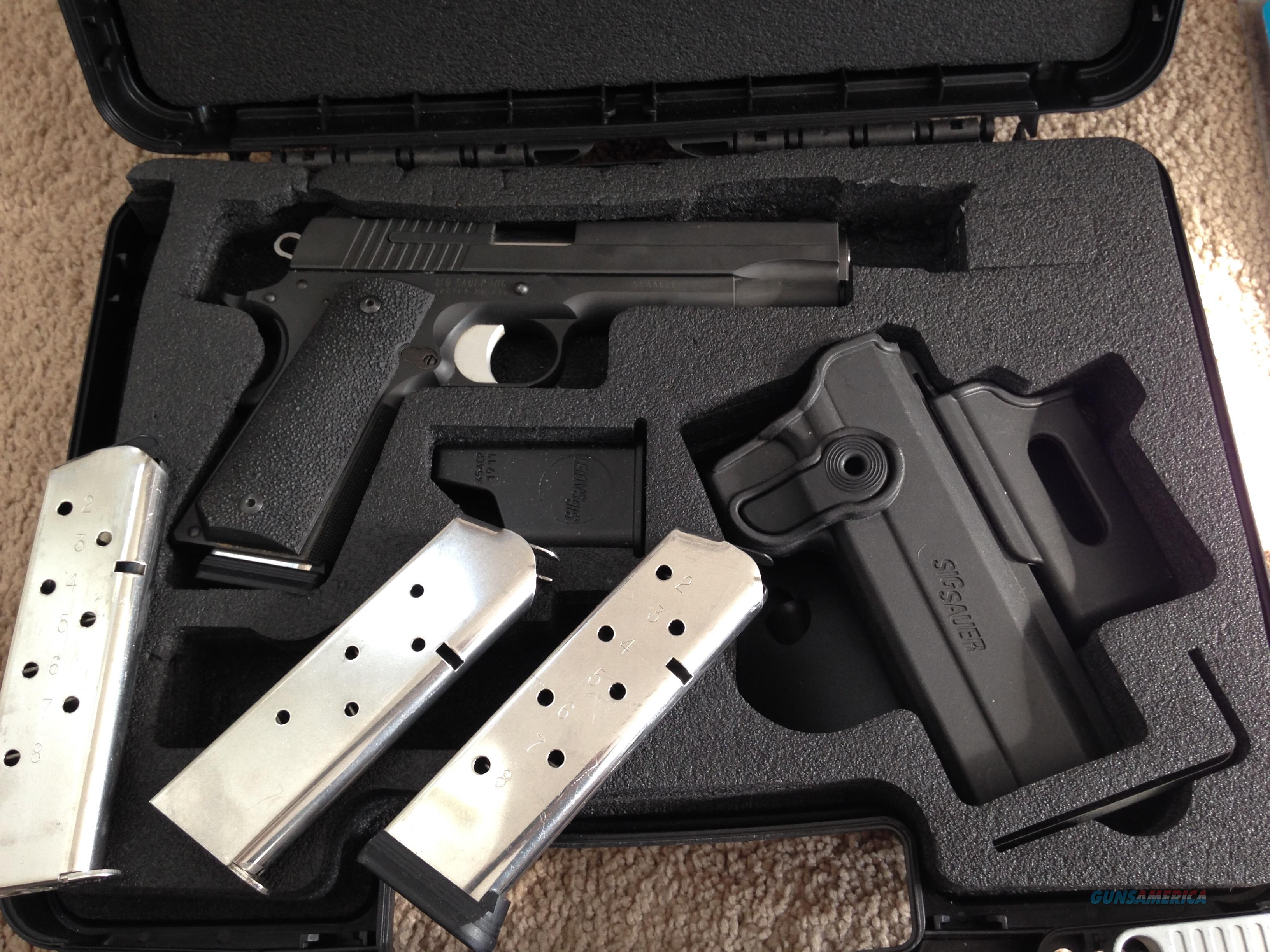 Sig Sauer 1911 TacPac Plus bullets, & more!  Guns > Pistols > Sig - Sauer/Sigarms Pistols > 1911