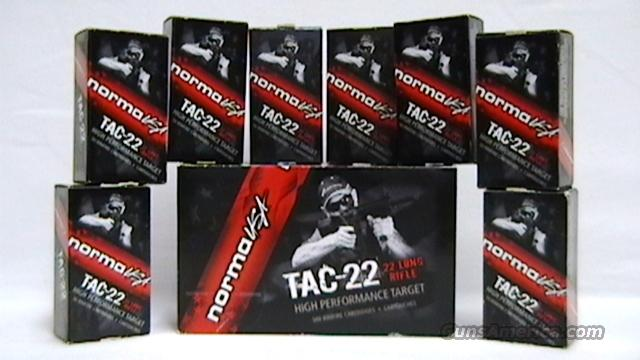 900 Rounds of Norma USA TAC-22 22LR  Non-Guns > Ammunition