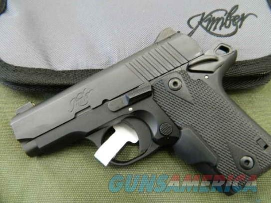 Kimber Micro380 DC with Crimson Trace Laser & Night Sights   Guns > Pistols > Kimber of America Pistols > Micro