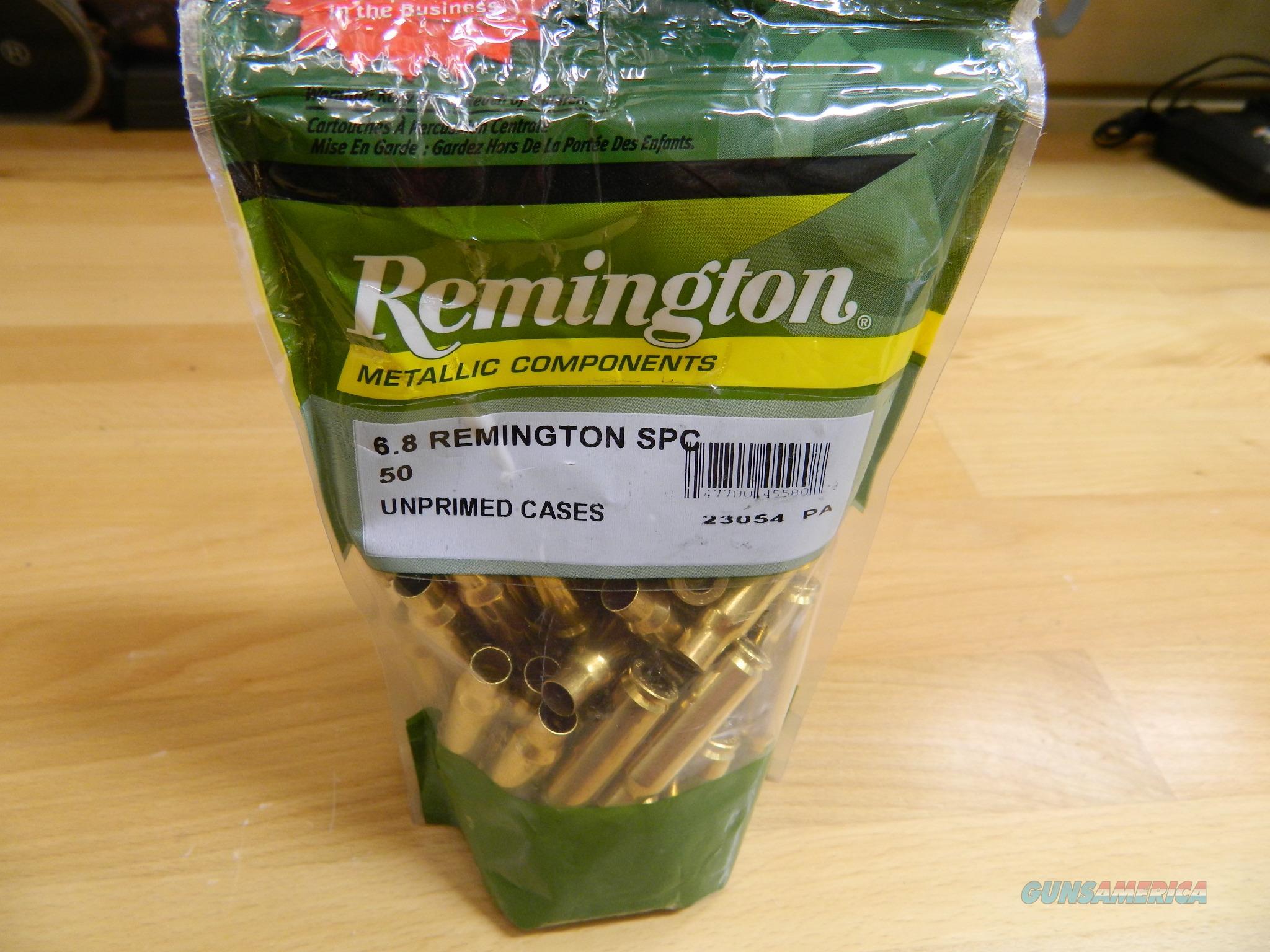 Remington 6.8 Remington SPC unprimed cases 50  Non-Guns > Reloading > Components > Brass