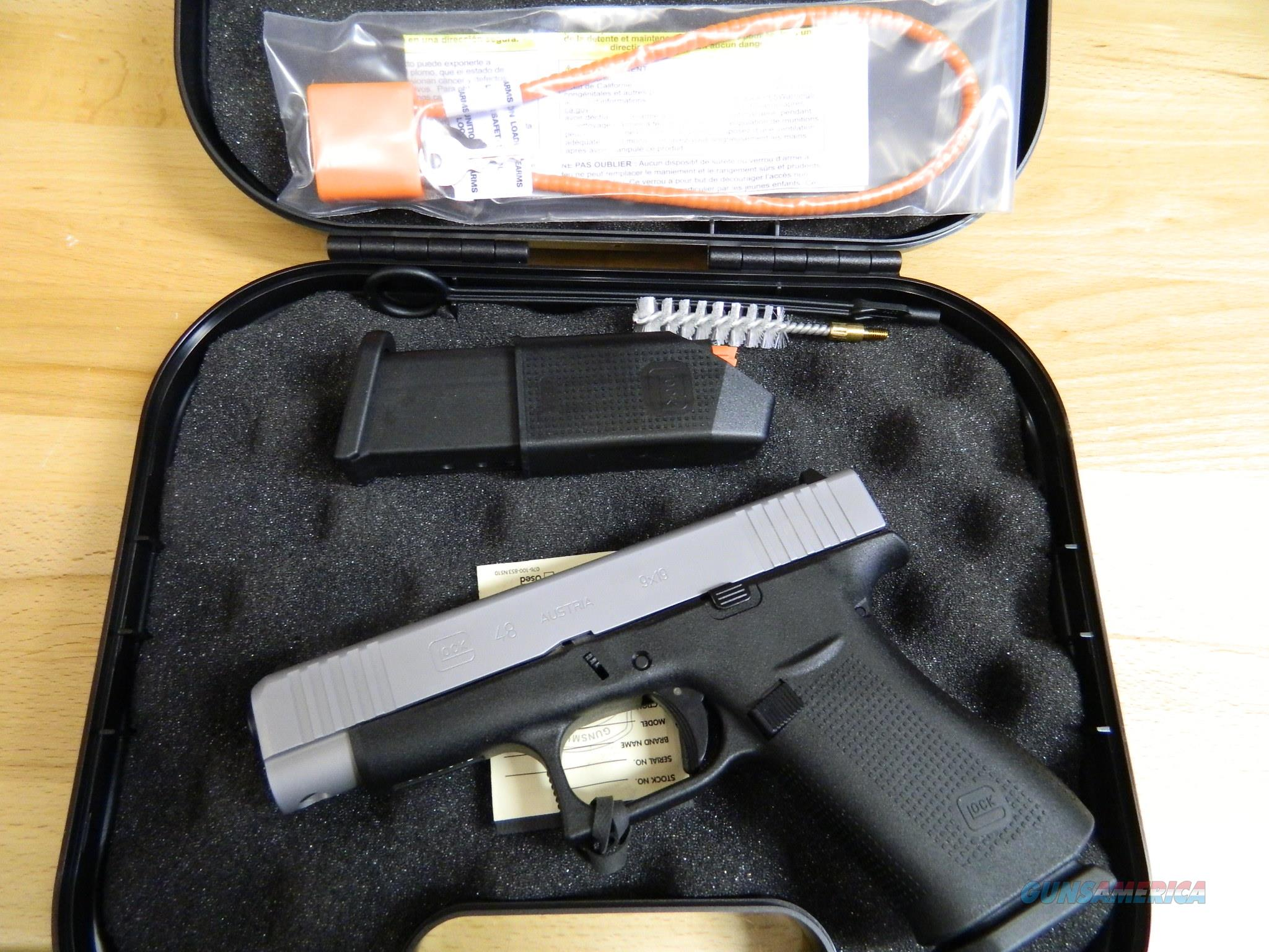 GLOCK G48 9MM single stack New in the Box  Guns > Pistols > Glock Pistols > 19/19X