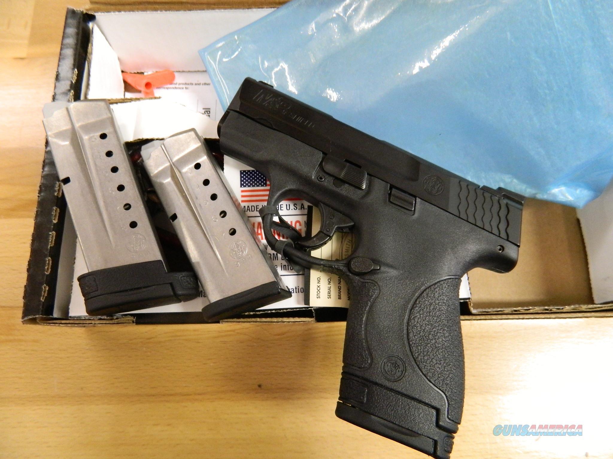 Smith & Wesson M&P9 Shield Night Sights / 9MM NIB 3 magazines  Guns > Pistols > Smith & Wesson Pistols - Autos > Shield