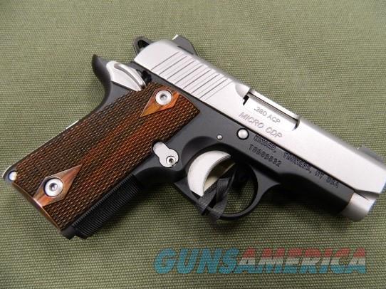 Kimber Micro380 CDP Custom Shop   Guns > Pistols > Kimber of America Pistols > Micro