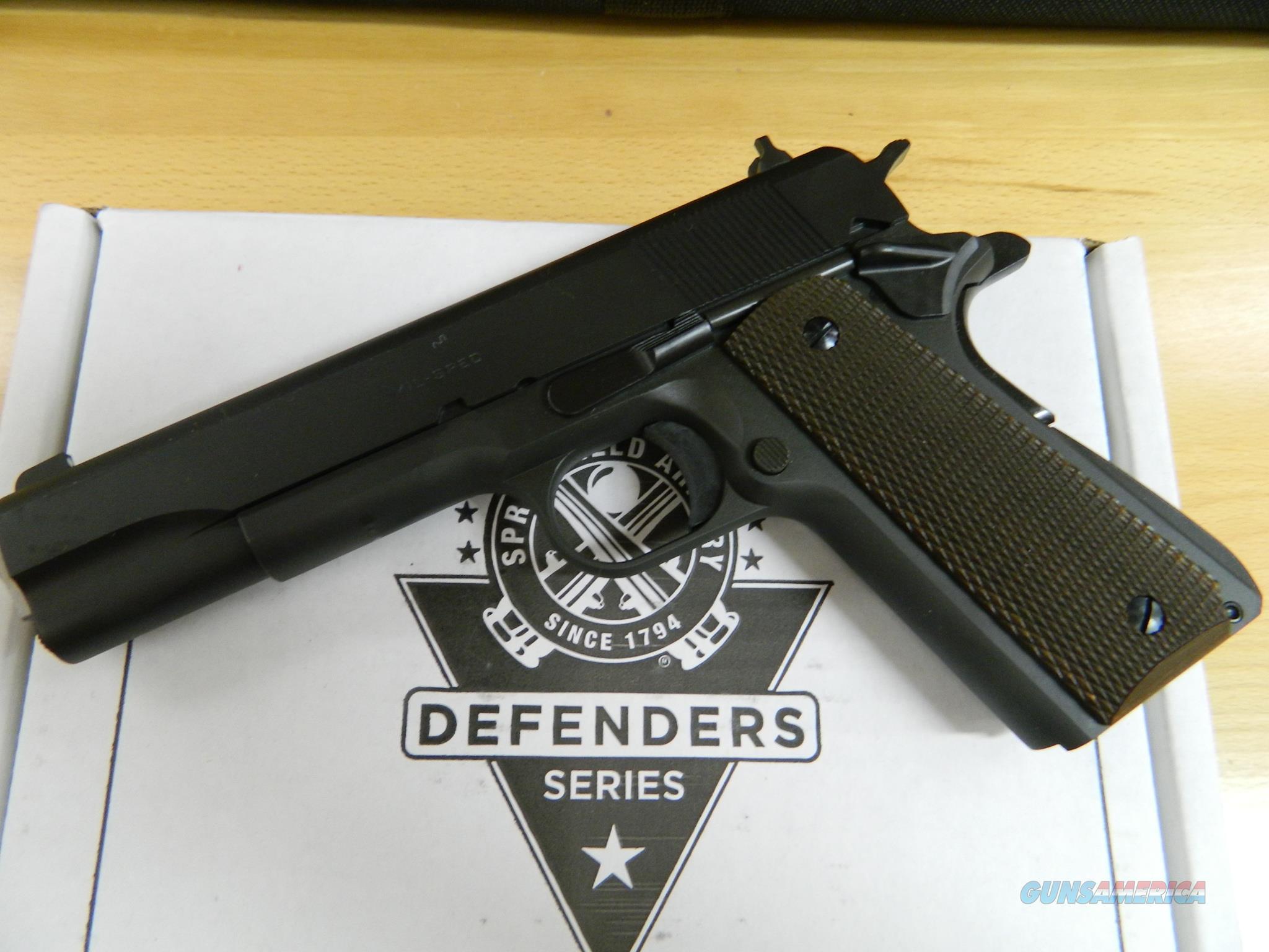 Springfield 1911 Mil-Spec Defender .45 ACP NIB  Guns > Pistols > Springfield Armory Pistols > 1911 Type