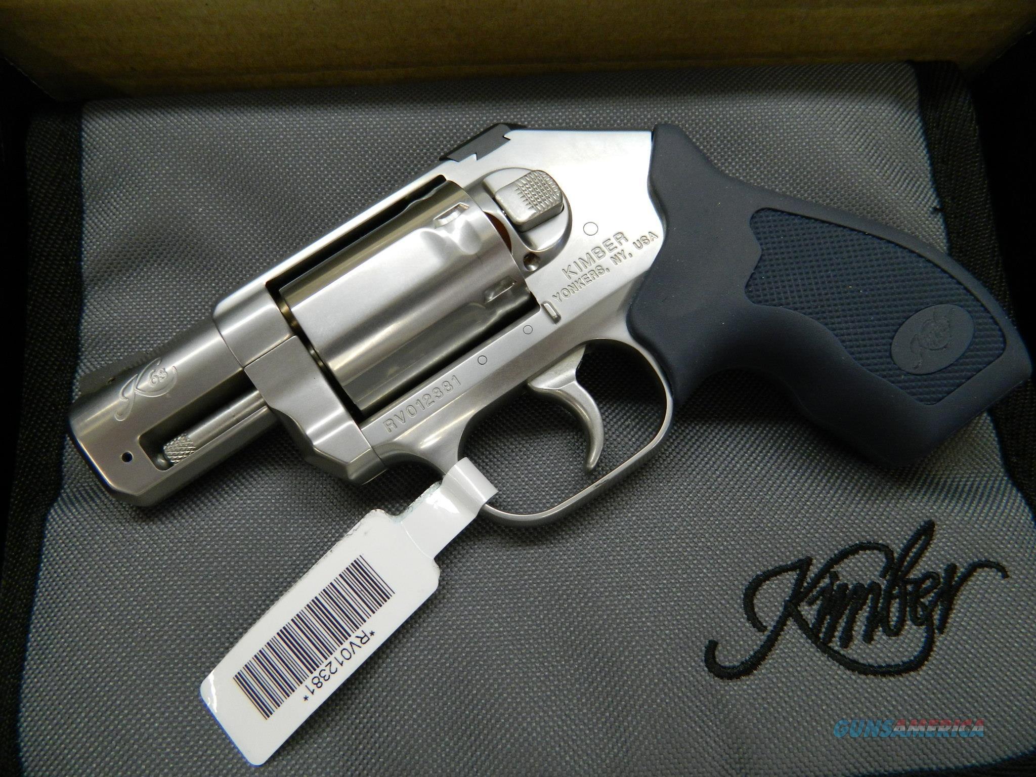 Kimber K6s Stainless  revolver .357 MAG  NIB 357  Guns > Pistols > Kimber of America Pistols > Revolvers