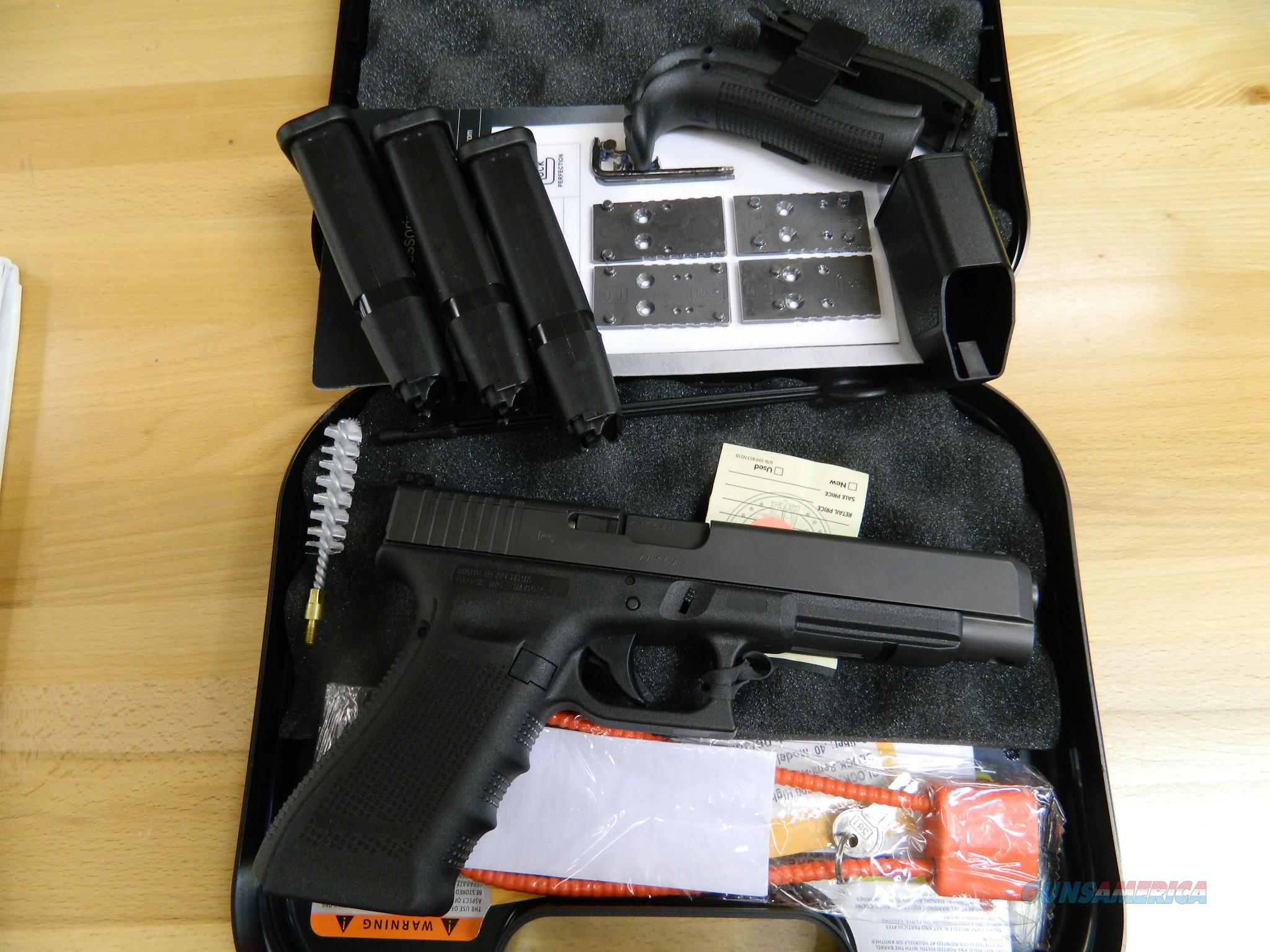 GLOCK 35Gen5 with MOS / adjustable sight NIB  Guns > Pistols > Glock Pistols > 35