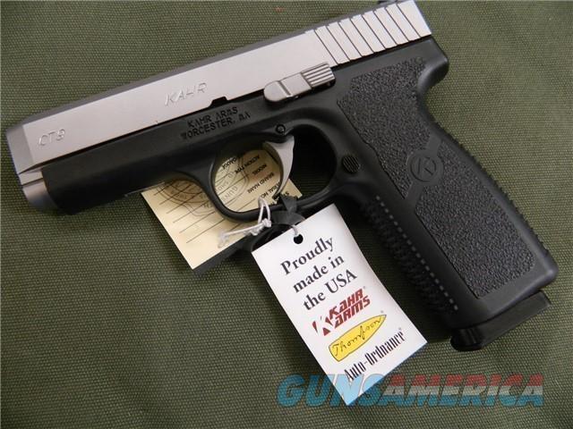 Kahr CT9 9MM NIB  Guns > Pistols > Kahr Pistols