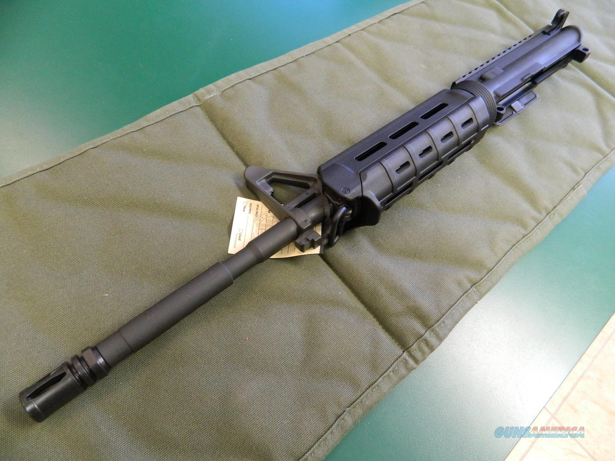 Anderson Upper with Magpul and Rail / Front Sight  Non-Guns > Gun Parts > M16-AR15 > Upper Only