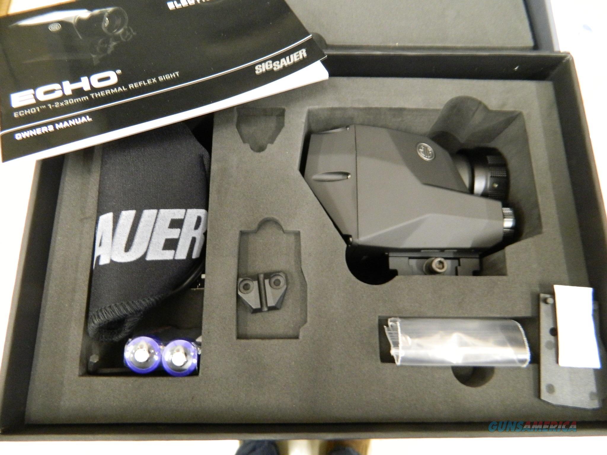 Sig Sauer ECHO1 Thermal Reflex Sight NIB  Non-Guns > Scopes/Mounts/Rings & Optics > Non-Scope Optics > Other