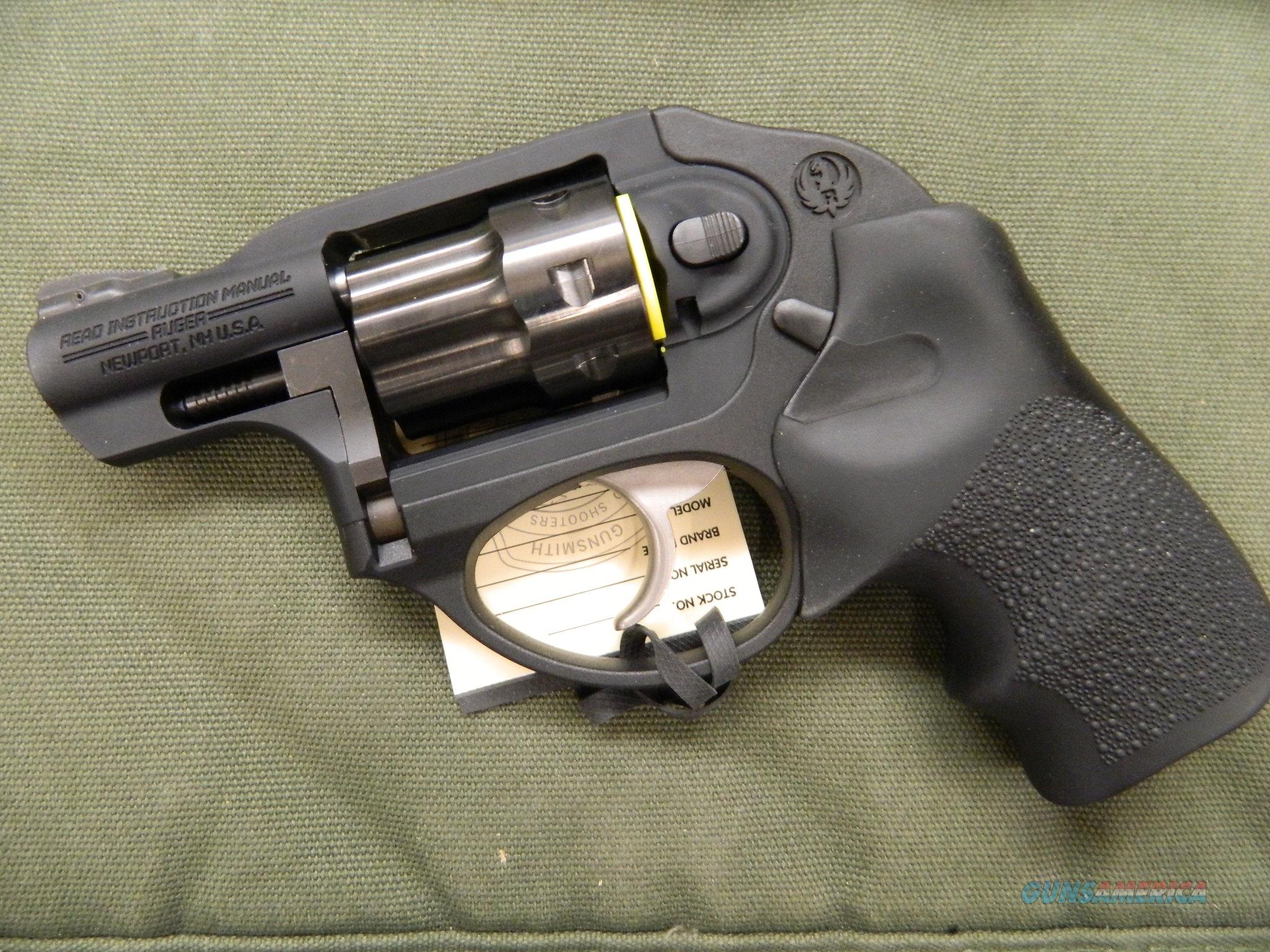 Ruger LCR 22 LR DAO with Hogue Grips NIB  Guns > Pistols > Ruger Double Action Revolver > LCR
