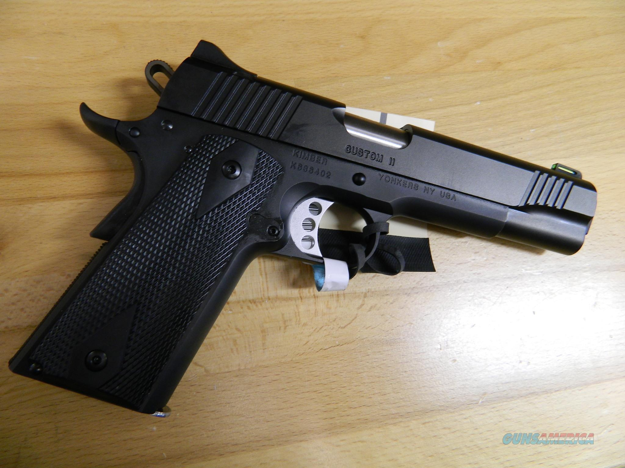 Kimber Custom II (GFO) .45 ACP New In Box  Guns > Pistols > Kimber of America Pistols > 1911