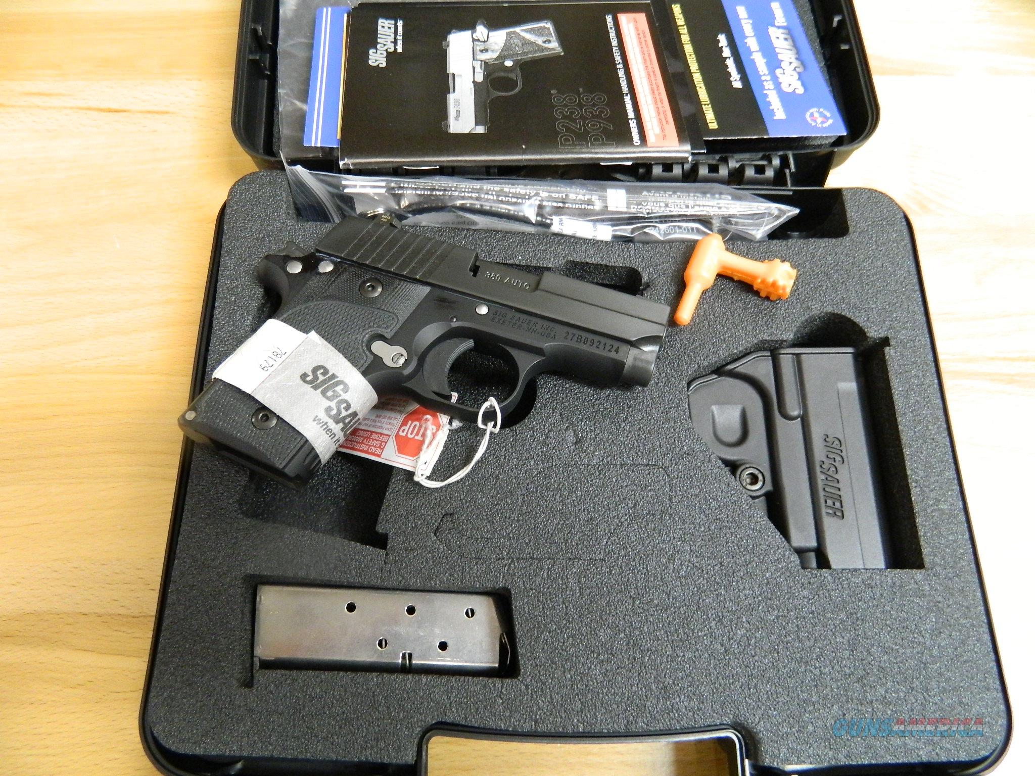 Sig Sauer P238 Nightmare night sights 380ACP NIB  Guns > Pistols > Sig - Sauer/Sigarms Pistols > P238