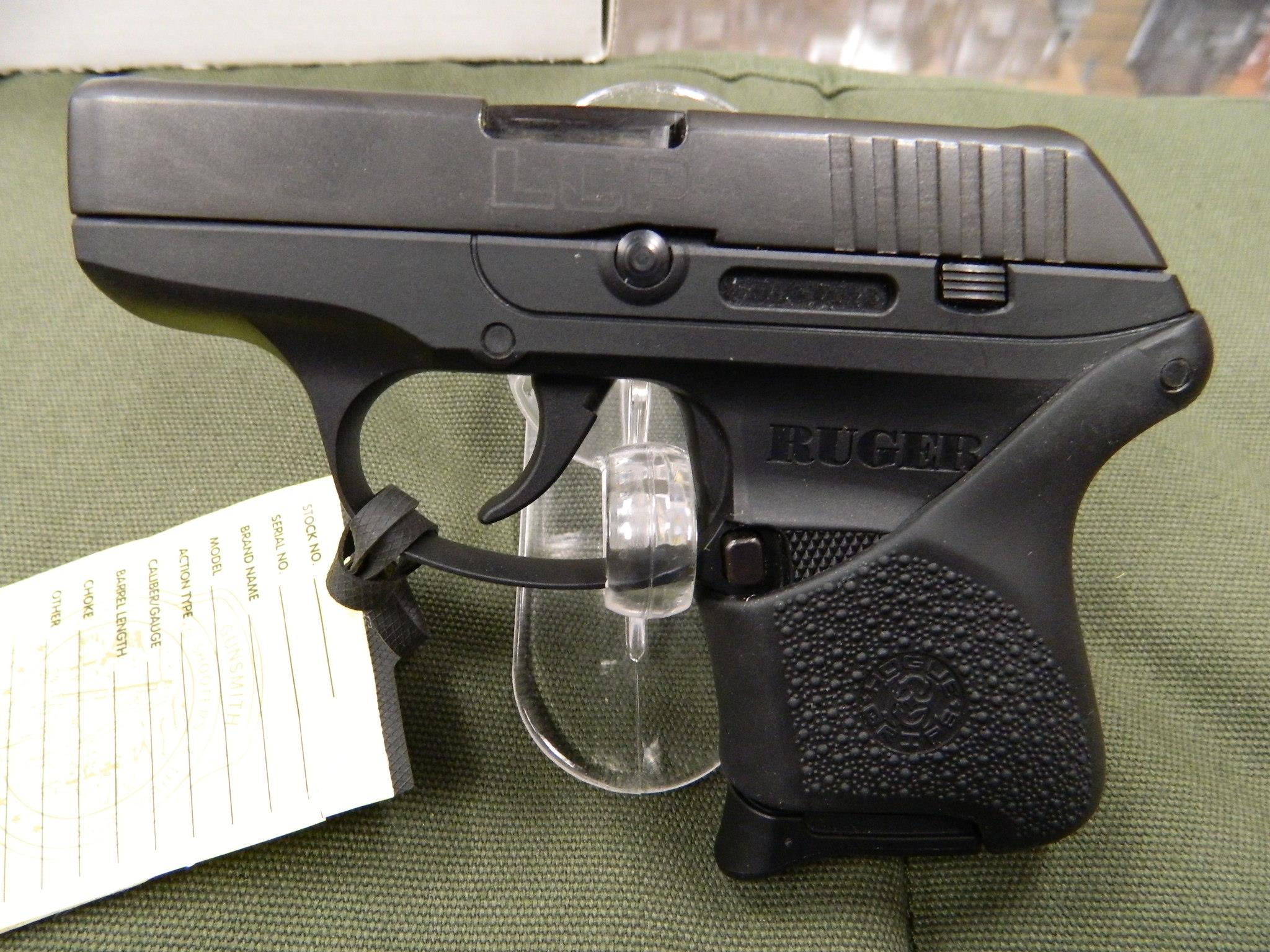 Ruger LCP with Hogue grip  Guns > Pistols > Ruger Semi-Auto Pistols > LCP