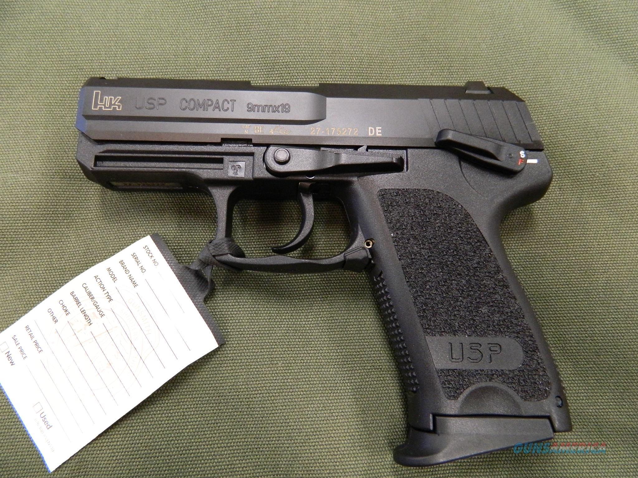 HK USP 9MM Compact NIB for sale