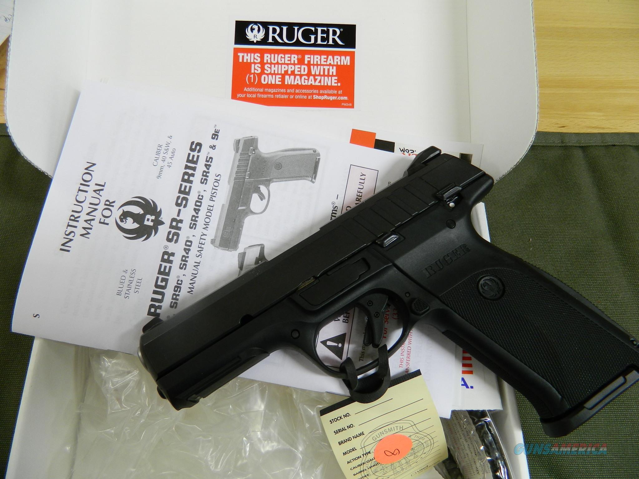 Ruger 9E 9MM 17rd mag NIB  Guns > Pistols > Ruger Semi-Auto Pistols > SR Family > SR9