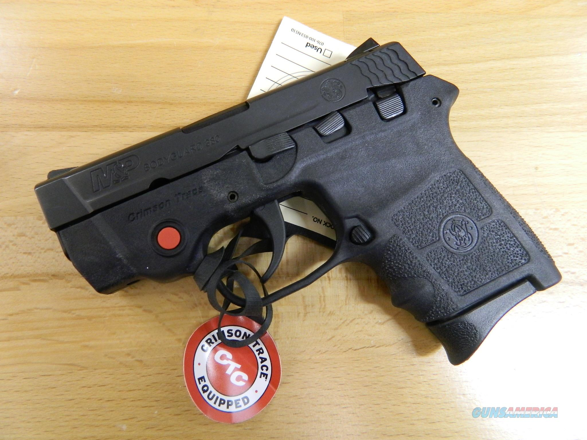 Smith & Wesson Bodyguard 380  CTL Free Shipping  Guns > Pistols > Smith & Wesson Pistols - Autos > Polymer Frame