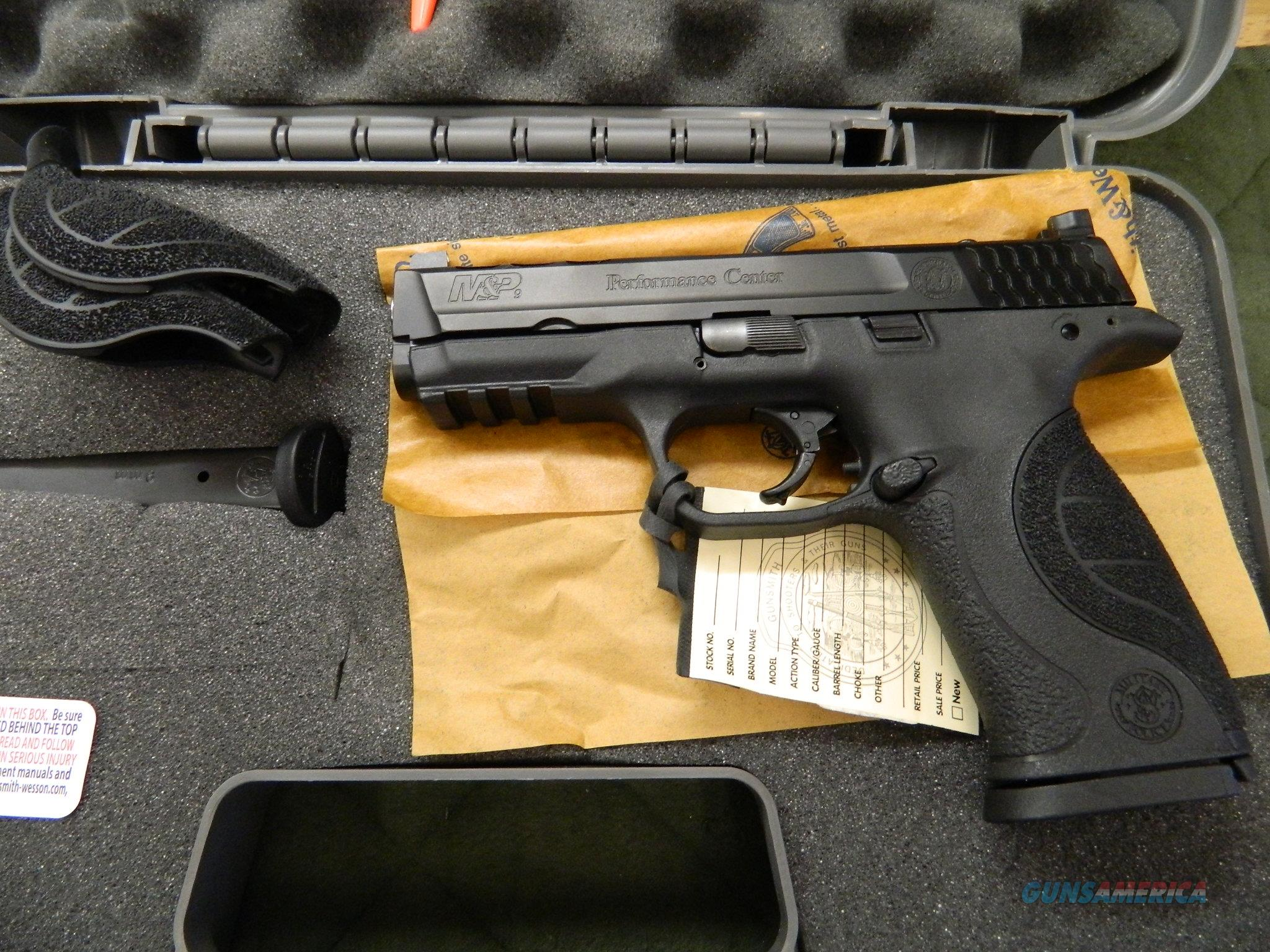 Smith & Wesson MP9 Performance Center C.O.R.E New in the Box  Guns > Pistols > Smith & Wesson Pistols - Autos > Polymer Frame