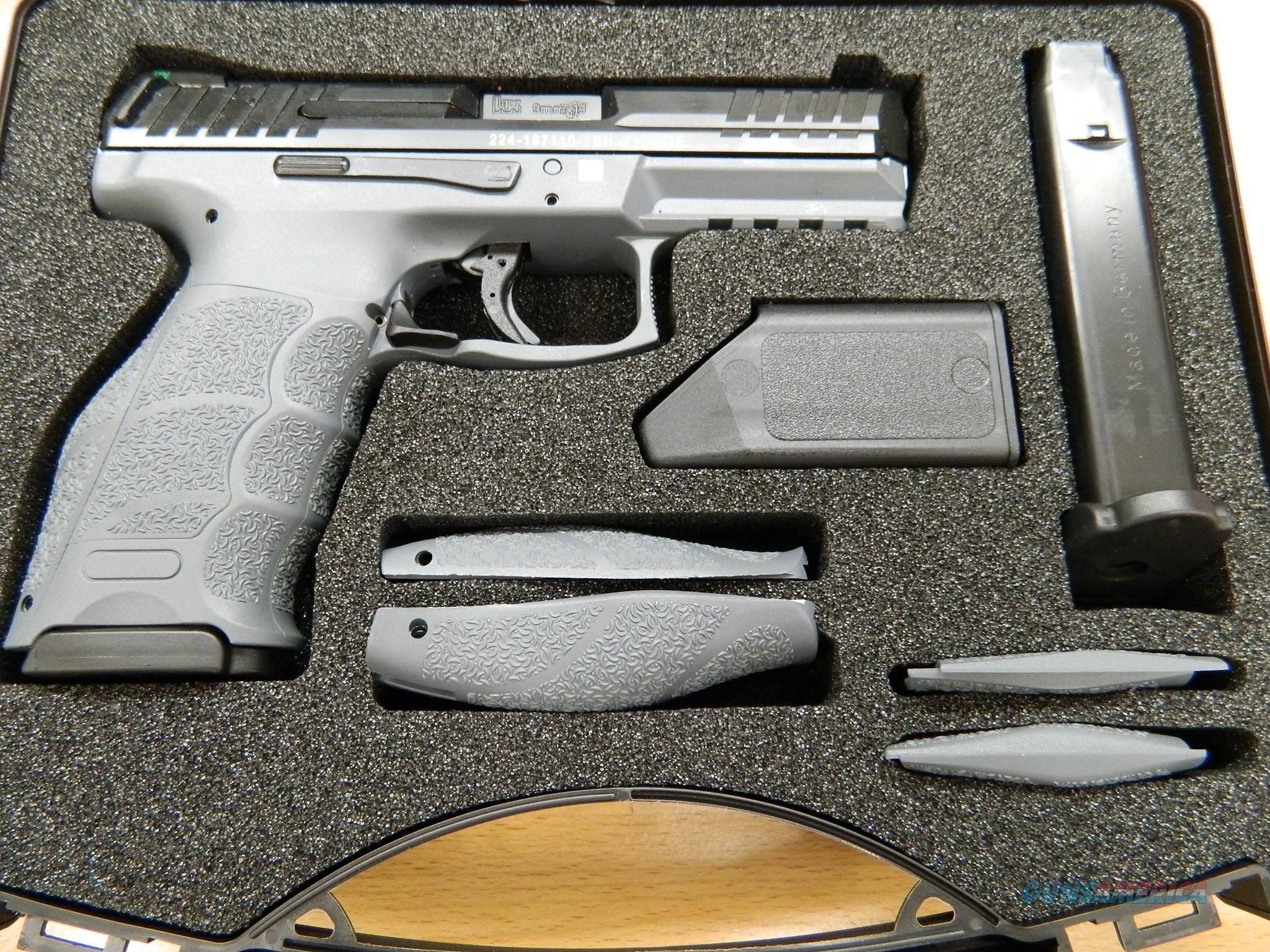 Heckler & Koch VP9 LE Grey night sights 3mags  NIB  Guns > Pistols > Heckler & Koch Pistols > Polymer Frame