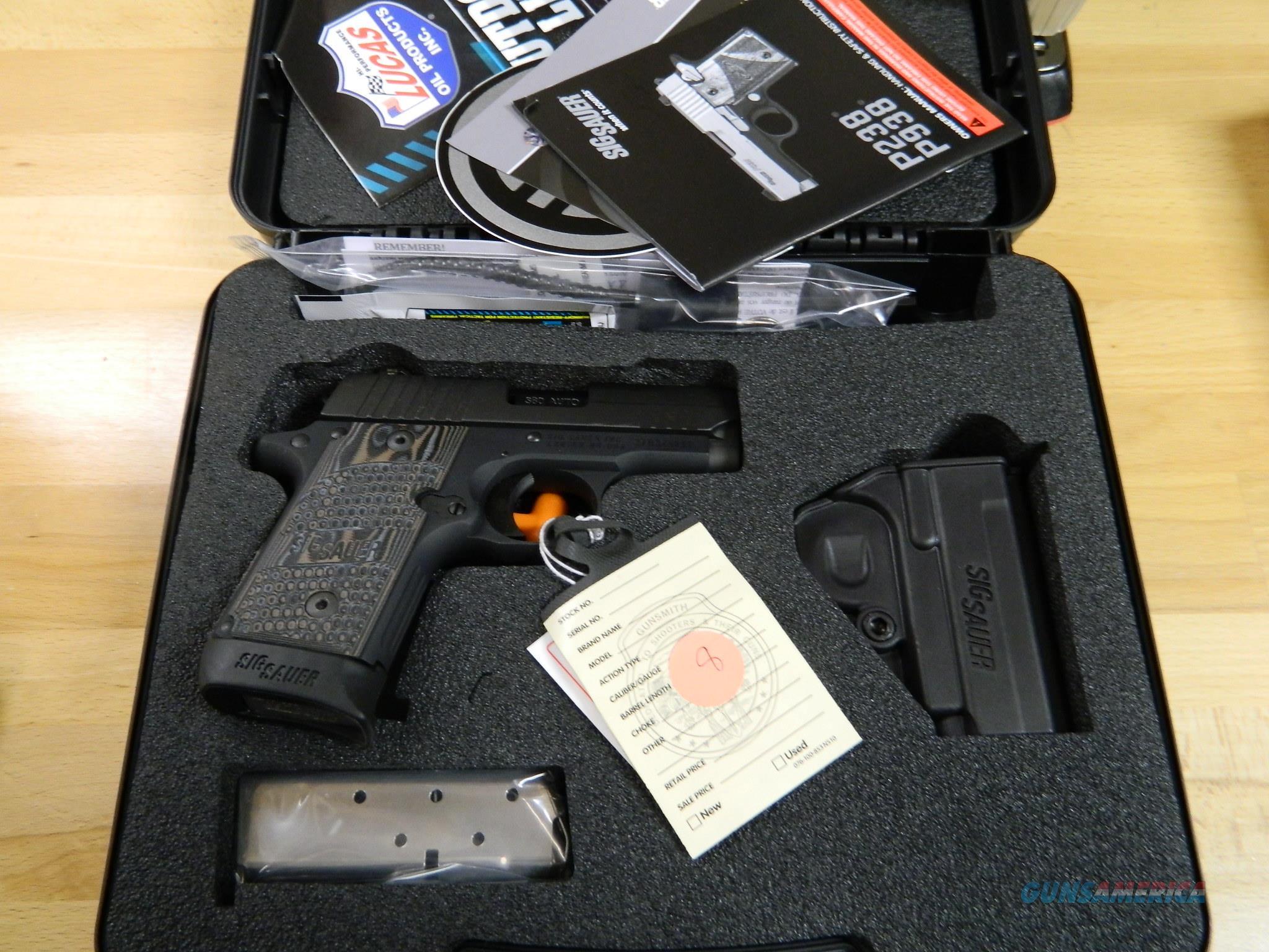 Sig Sauer P238 Extreme night sights 380ACP NIB  Guns > Pistols > Sig - Sauer/Sigarms Pistols > P238