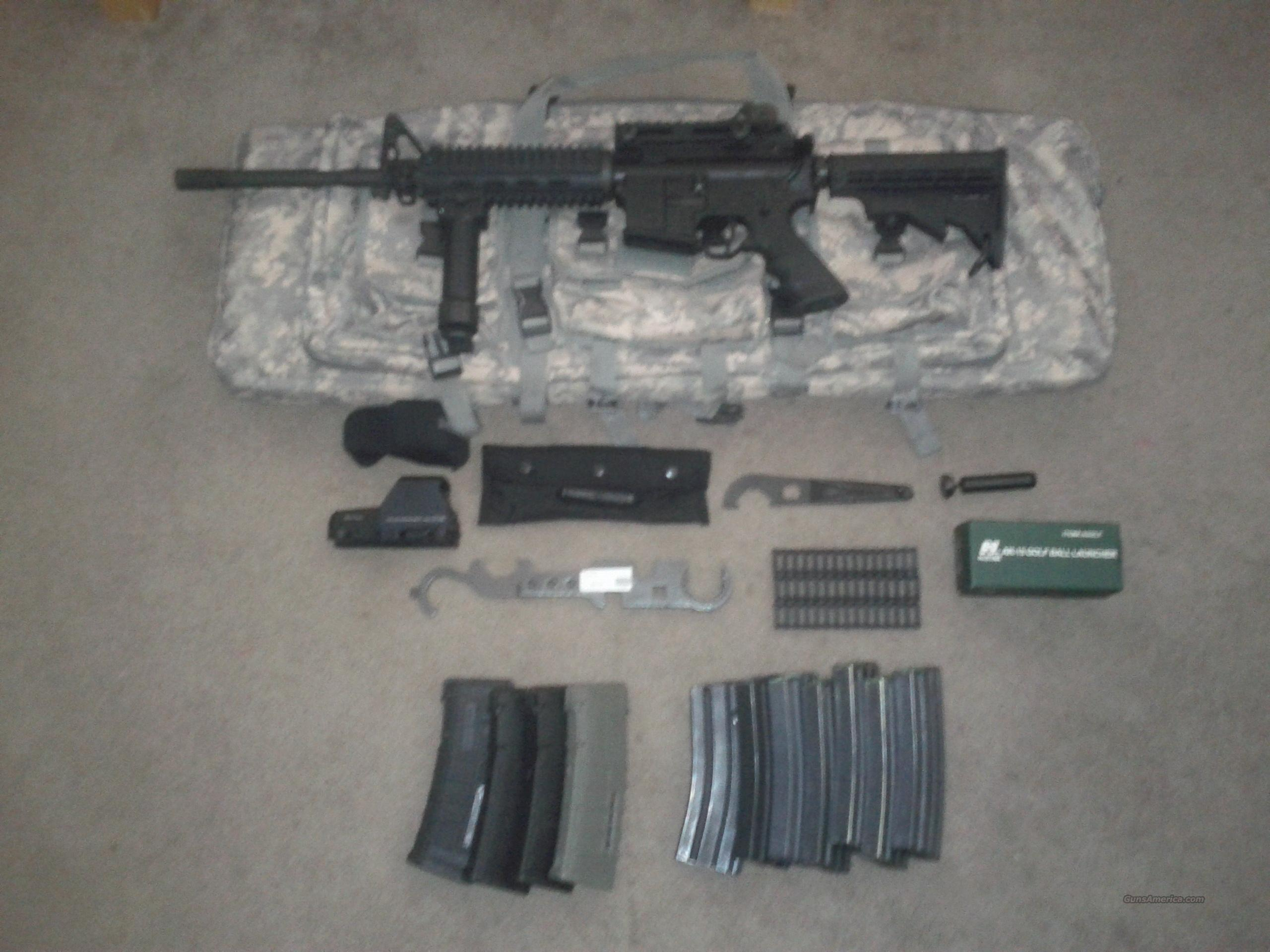 Lighty Used Rock River Entry Tactical Ar15  Guns > Rifles > Rock River Arms Rifles
