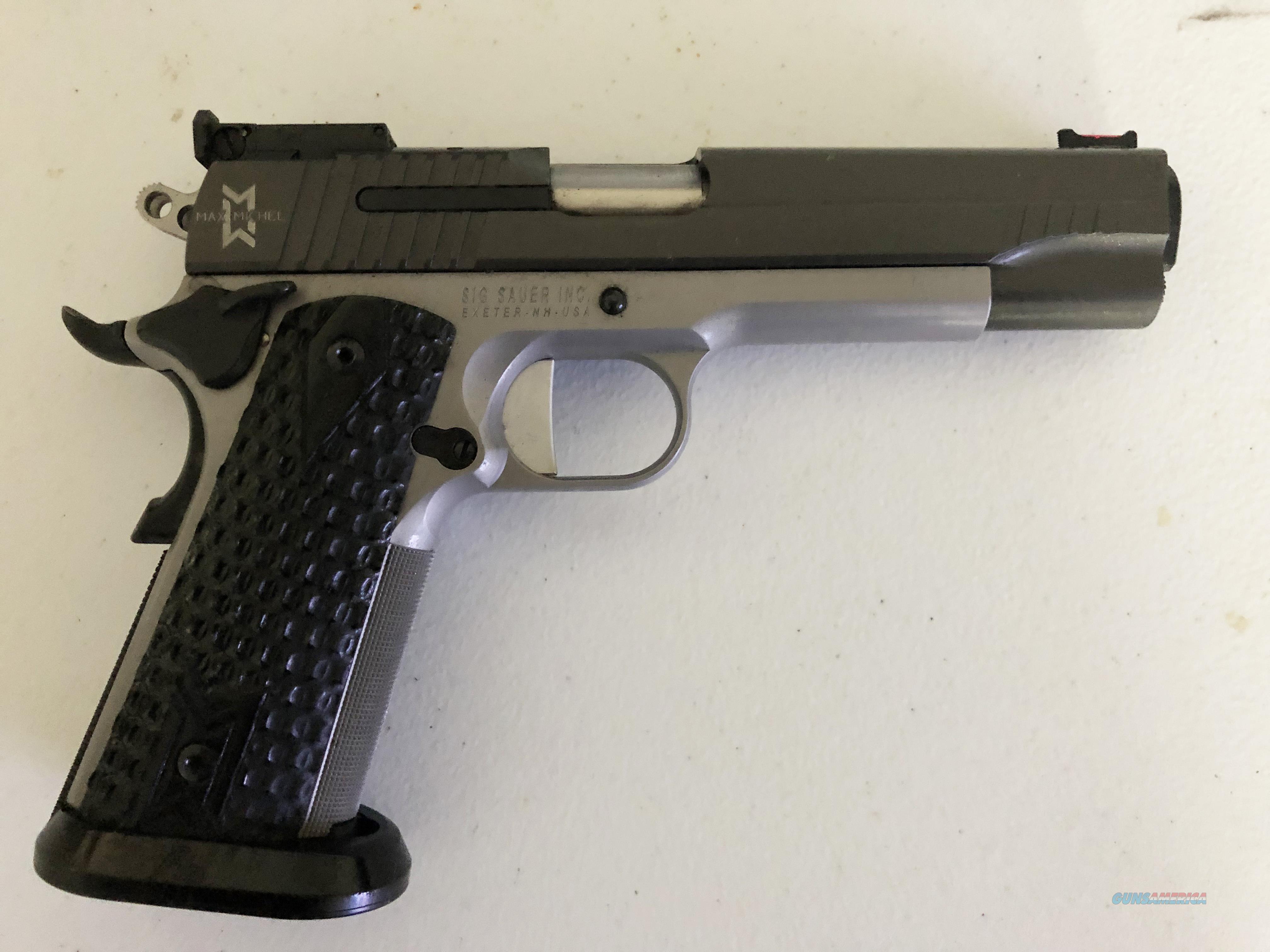 SIG SAUER Max Michel  Guns > Pistols > 1911 Pistol Copies (non-Colt)