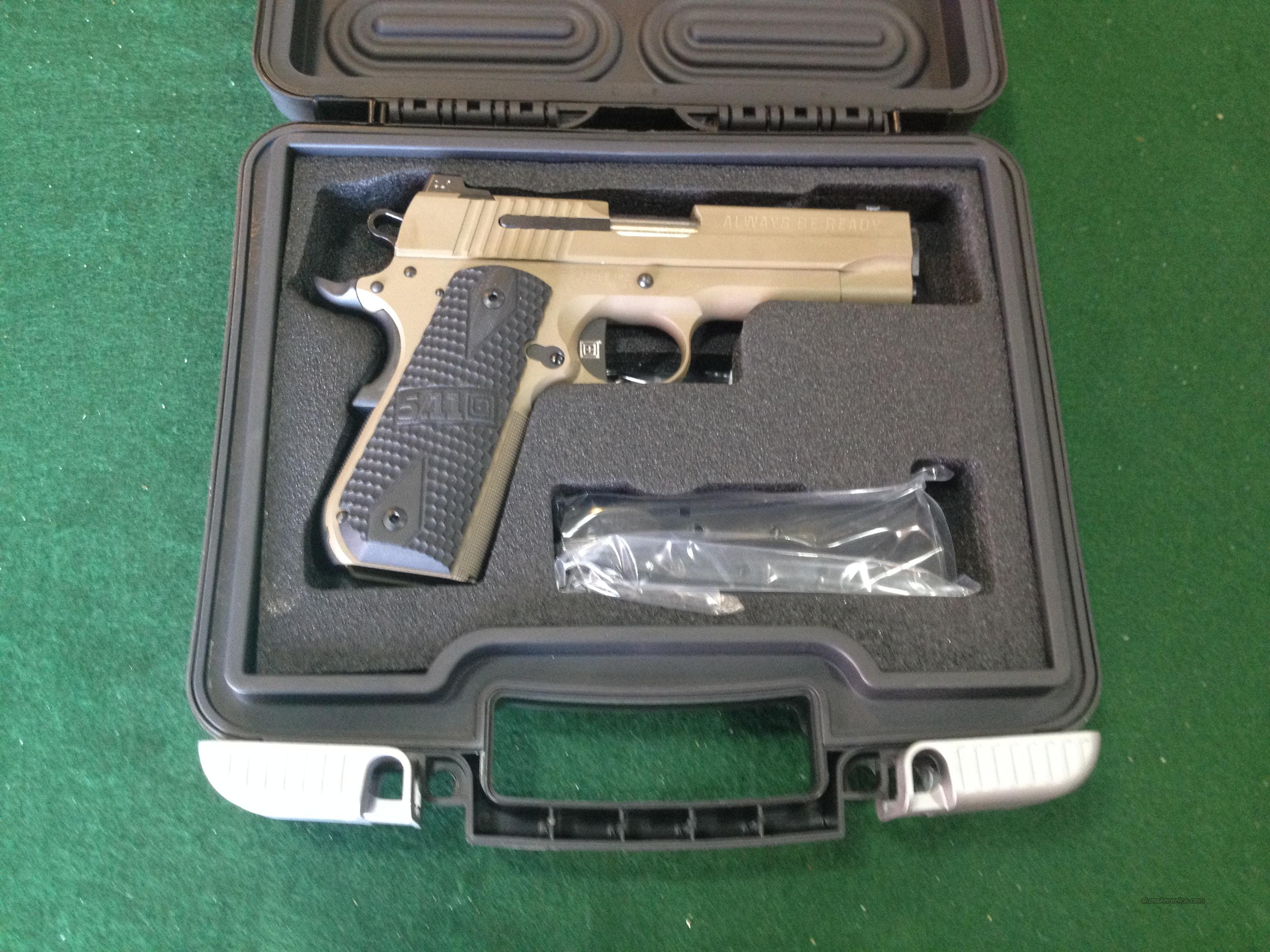 Sig Sauer 1911 Carry 5.11 Edition 45ACP  Guns > Pistols > Sig - Sauer/Sigarms Pistols > 1911